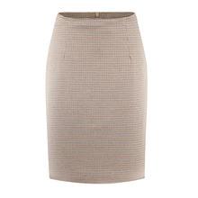 Женская летняя юбка Корейская версия клетчатая тонкая модная