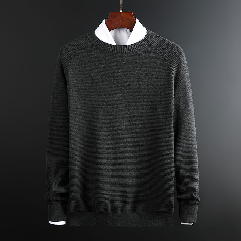 2019 New Fashion Brand Sweaters Men Pullover Warm Slim Fit Jumpers Knitwear Thick O-Neck Winter Korean Style Casual Mens Clothes