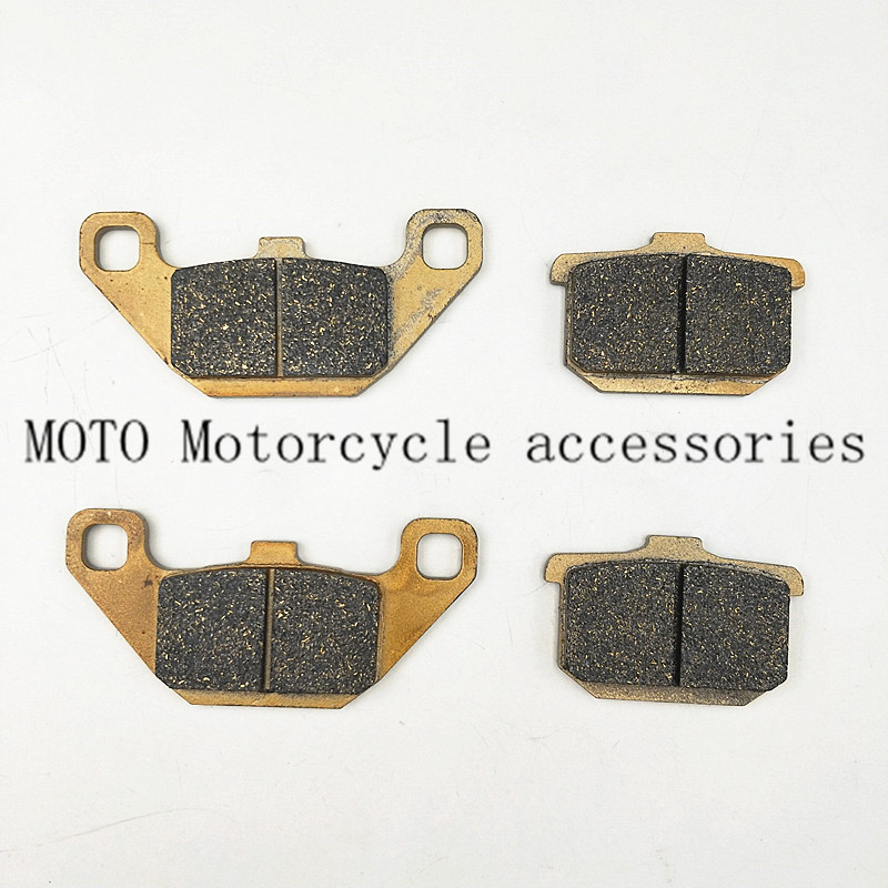 Motorcycle Front Brake Pads For Kawasaki VN700 Vulcan 1985 VN800 1995-1999 <font><b>VN1500</b></font> Classic 1996-1999 image