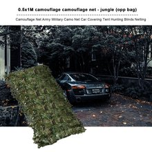 Outdoor Car Camo Netting Camouflage Net for Camping Military Hunting Shooting Sunscreen Shading Shelter Tactical Ghillie Suit welead 2 5m military camouflage net white reinforced for garden decoration sun shelter outdoor awning terrace patio shading camo