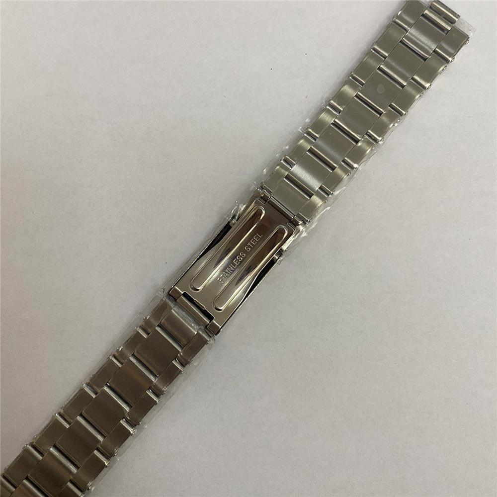 Substituição 20mm aço inoxidável correia de relógio