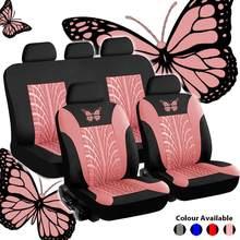 4 pçs universal tampas de assento do carro proteger automóvel tampas de assento automotivo fo kalina grantar lada priora renault logan