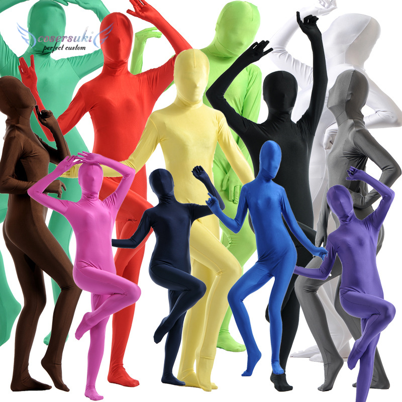 Cosplay all-inclusive tights zentai Lycra onesies stage costumes Zentai Suit Custome for Halloween performance