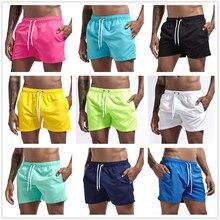 Pocket Swimming Shorts For Men Swimwear Man Swimsuit Swim Tr