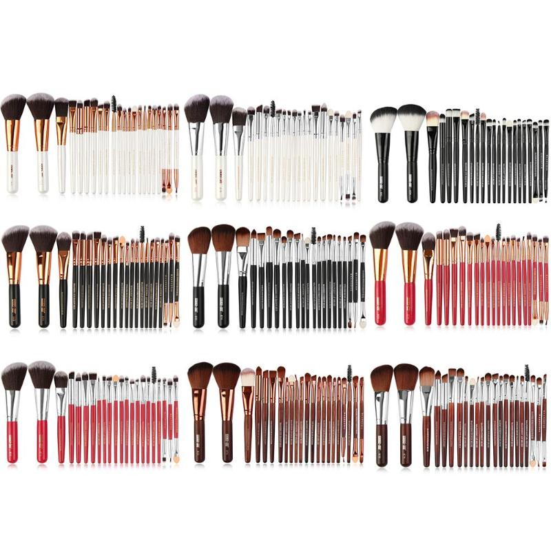 MOJOYCE  22pcs Makeup Brushes Set Professional Cosmetic Foundation Powder Blush Eye Shadow Blend Make Up Brushes Tool Beauty Kit