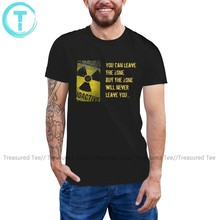 Stalker T Shirt Stalker You Can Leave The Zone T-Shirt Awesome Printed Tee Shirt 100 Cotton Man 6xl Tshirt