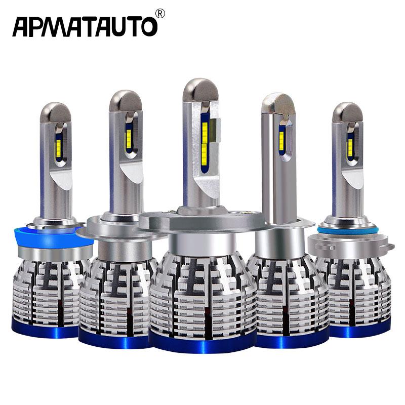 2x Led H4 H7 H8 H9 H11 H1 9600LM 6000K Car LED Headlights Fog Lamps 9005 HB3 9006 HB4 H10 9012(HIR2) Fog Light Bulbs 12v-24v