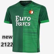 Novo 21 22 feyenoordes camisa sinisterra v. persie berghuis vilhena jorgensen 2021 2022 feyenoordes camisa adulto