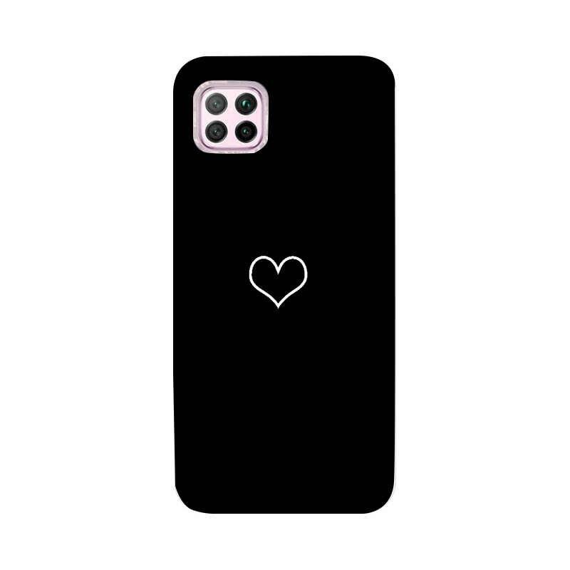 מקרה סיליקון טלפון כיסוי עבור Huawei P40 Lite E P 40 פרו P40LiteE Y6 פרו 2019 נובה 7I 3I Y7P y6P Mate 10 P20 P30 לייט מקרה Coque