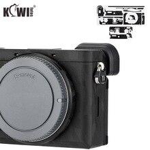 Kiwifotos Protector de Cuerpo de Cámara antiarañazos para cámara Sony A6600, pegatina de camuflaje negro, 3M