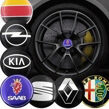 Car-Stickers Car-Wheel-Center-Hub-Cap MK7 CC Beetle 56mm Mk5 Passat Mk6 Tiguan Jetta