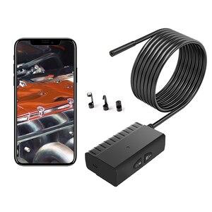 Image 4 - 5.5 ミリメートル 5.0MP hdワイヤレス内視鏡 1080 1080p IP67 蛇検査カメラ 2600 のためのios & アンドロイドスマートフォン錠