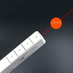 Bezprzewodowy prezenter wskaźnik prezentacji czerwonego światła pilot laserowy podświetlający pióro do PowerPoint