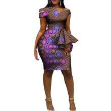Модные африканские платья Дашики для женщин базин богатый Анкара