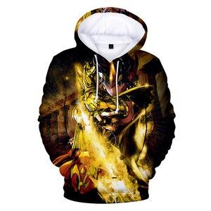 Image 5 - Saint Seiya 3D Hooded New Cartoon Sweatshirt Men Women Fashion 3D Hoodie Saint Seiya Hoodie Casual Sun Jumper