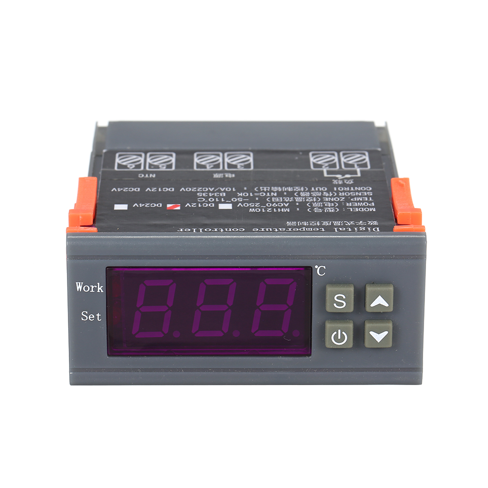 <font><b>MH</b></font>-<font><b>1210W</b></font> LED Digital Thermostat for Incubator Temperature Controller Thermoregulator Relay Heating Cooling 12V 24V 220V image