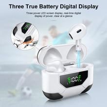Новый LZ-10 наушники-вкладыши TWS с Беспроводной Bluetooth наушники объем Управление супер бас наушники с цифровым Дисплей зарядный чехол Pk i9000 max на...