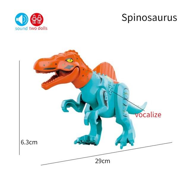 Créateur son jurassique monde 2 dinosaures Figures Stygimoloch blocs de construction briques compatibles bricolage jouets pour enfants cadeau
