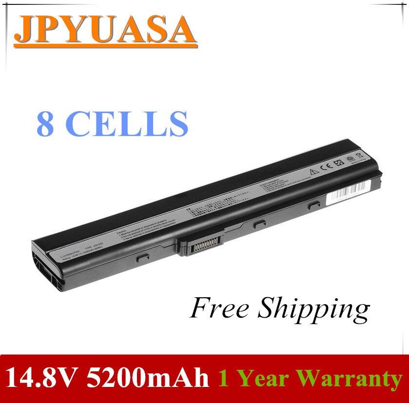 7XINbox 14,8 V 5200mAh A32-K52 A31-K52 A41-K52 Аккумулятор для ноутбука ASUS A42JK K52J X52D A42JP K52JB X52DE 70-NYX1B1100Z