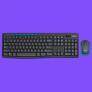 Image 5 - Ogitech MK275 USB clavier sans fil 1000DPI clavier étanche avec fonction multimédia clé optique ergonomique PC souris Combos