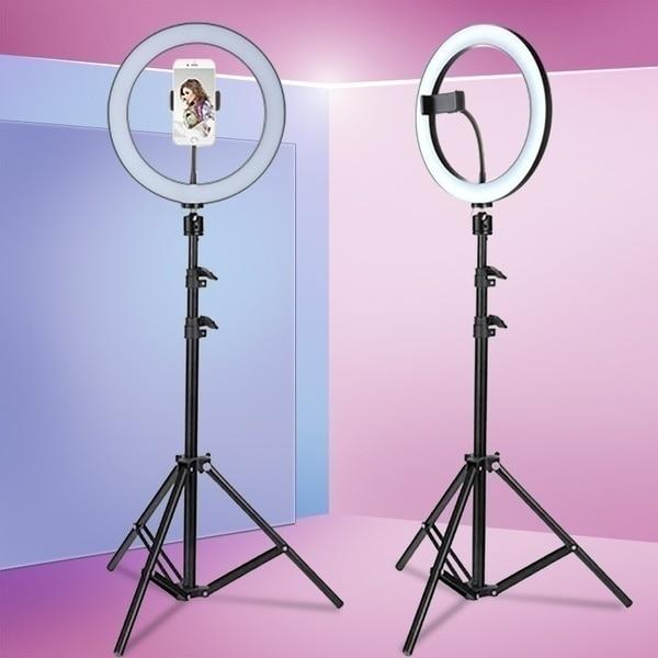 Ring Lamp Tripod Setup