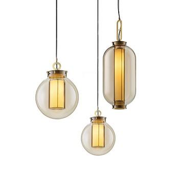 2020 Vintage Ball Lamp Industrial Light Designer Pendant Lighting Coffee Shop Small Pendant Light vintage pendant lamp vintage