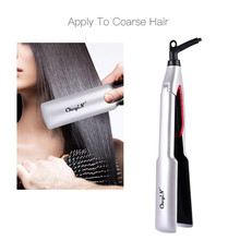 Professional Hair Straightener Curler Flat Irons Plate Fast