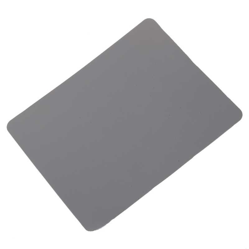 """8,5 """"x 6,9"""" de silicona suave cuadrado gris alfombrilla de ratón para ordenador de sobremesa Mat"""