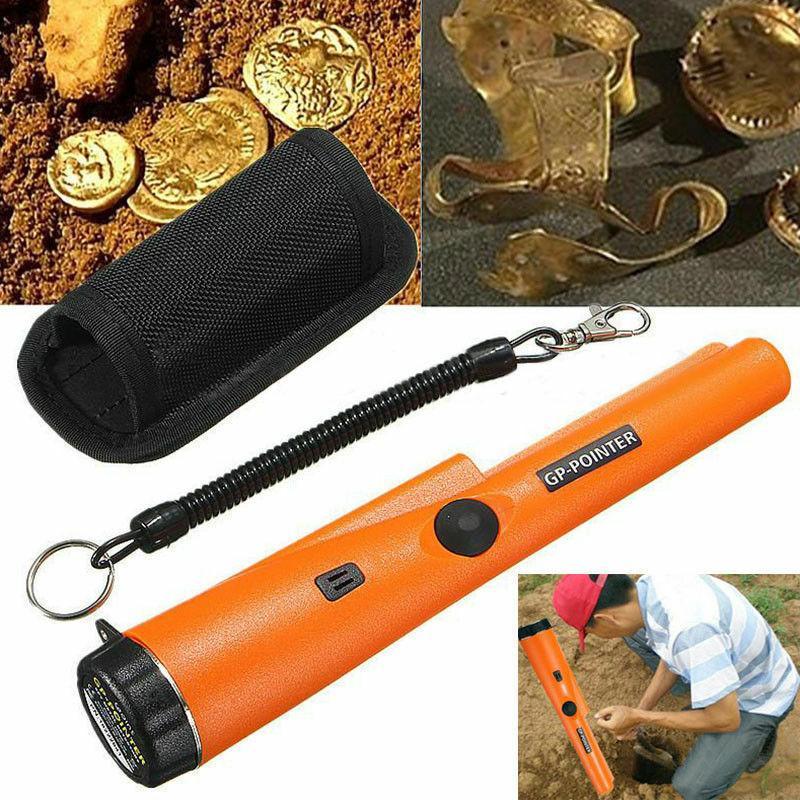 1 Set Handheld Metal Detector Pointer Pinpointing Cover IP66 Waterproof Detector Gold Search For Treasure Hunters