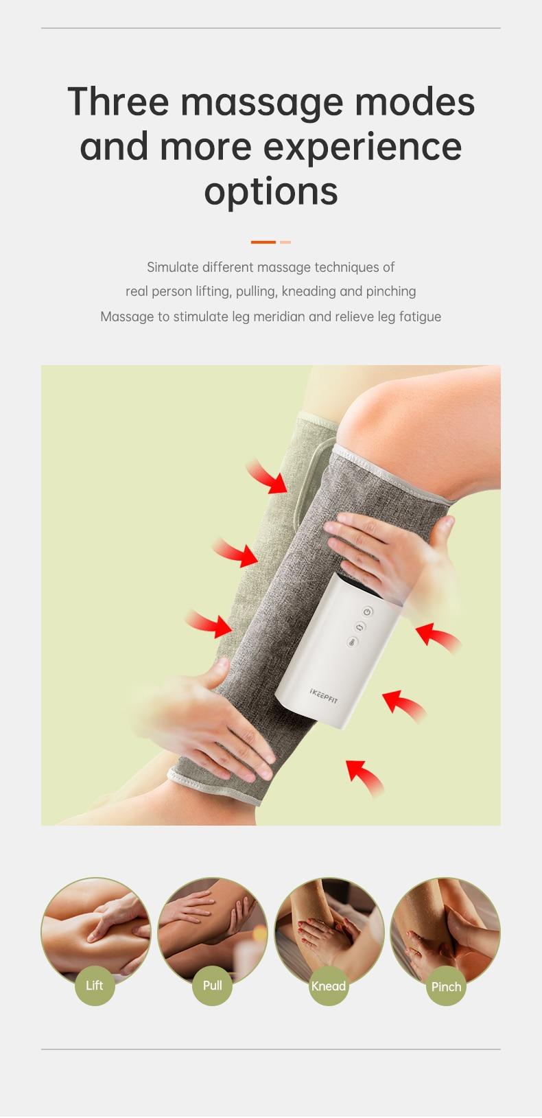 Air Compression Leg and Calf Massager 7