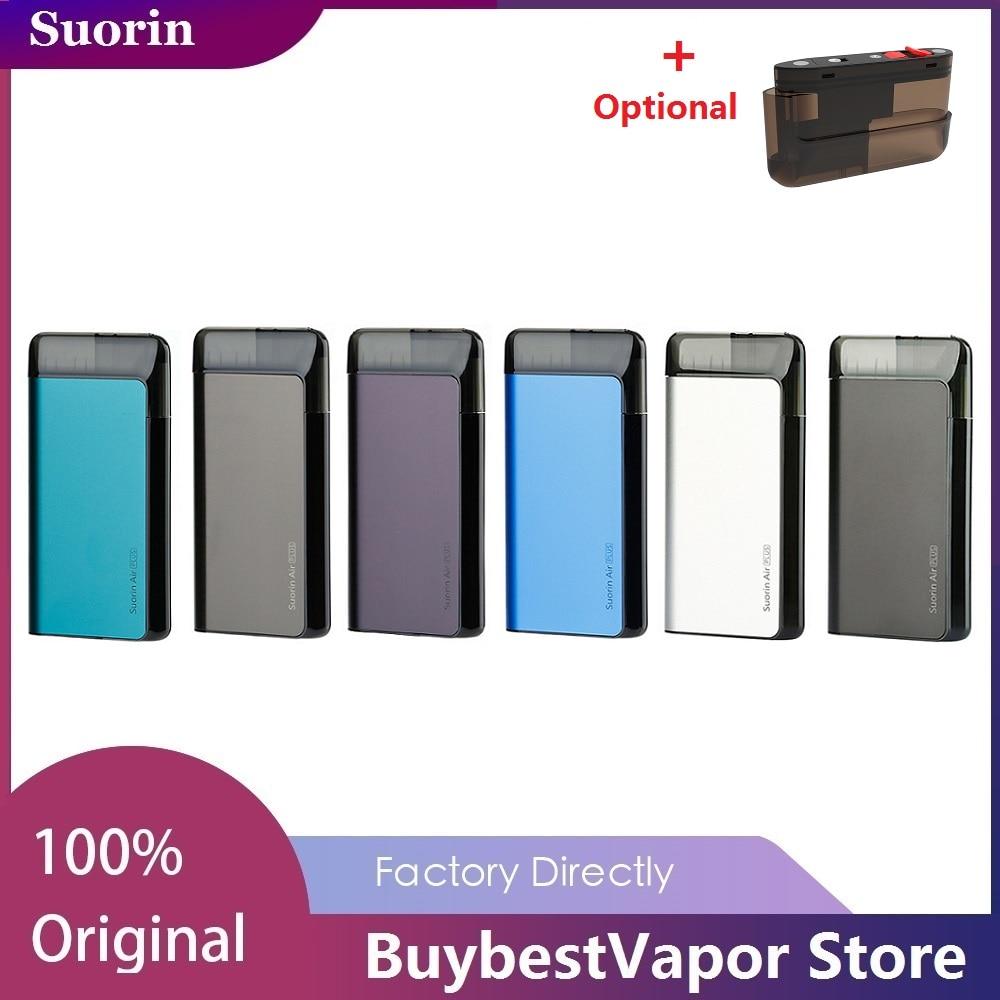 Nova Suorin Além De Ar Pod Vape Kit 930mAh com Cinco-nível LED & Design Defletor de Óleo Vape Vaporizador kit VS Suorin Pod Air/Nano ARRASTAR