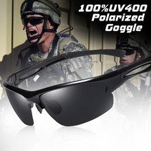 Brand Outdoor Sport Sunglasses Men Polarized Windproof Tactical Military Sun Glasses Driving Oculos De Sol zonnebril heren UV400