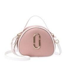 Crossbody Bags For Women Lychee Fashion Girl Messenger Bag Small Fresh Designer Handbag Quality 2019 Summer New Shoulder Bag цена 2017