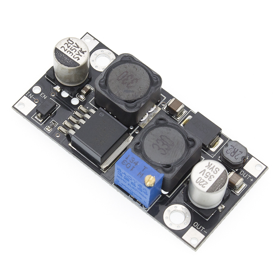 Image 3 - 10pcs XL6019 (XL6009 upgrade)) Automatic step up step down DC DC Adjustable Converter Power Supply Module 20W 5 32V to 1.3 35V-in Integrated Circuits from Electronic Components & Supplies