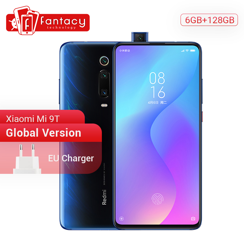 Global Version Xiaomi MI 9T 9 T Redmi K20 6GB 128GB Snapdragon 730 Octa Core Smartphone 6.39'' AMOLED Display 48MP Cameras NFC