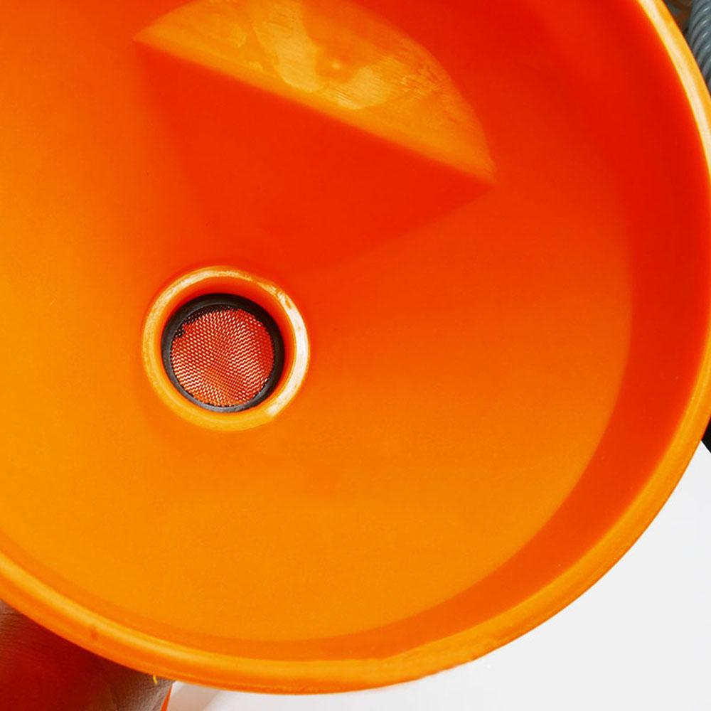 Red Detachable Flexible Neck Tube Funnel for Oil Fuel Petrol Diesel Car Van Hot