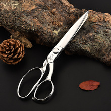Stainless steel cutting scissors clothing cutting household scissors professional tailoring scissors industrial scissors manganese steel pointed scissors industrial scissors household scissors tailoring stainless steel scissors leather scissors