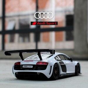 RASTAR 124 Audi R8 Сплав модель автомобиля Diecasts & Toy транспортные средства собирают подарки без дистанционного управления Тип транспорта игрушка