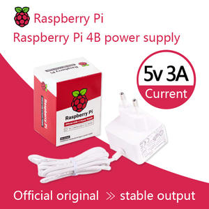 Power-Supply Raspberry Pi Official The And USB-C for 4 Recommended
