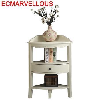 Mueble Auxiliar pequeño para Sala De estar, Mueble De madera, Mueble esquinero