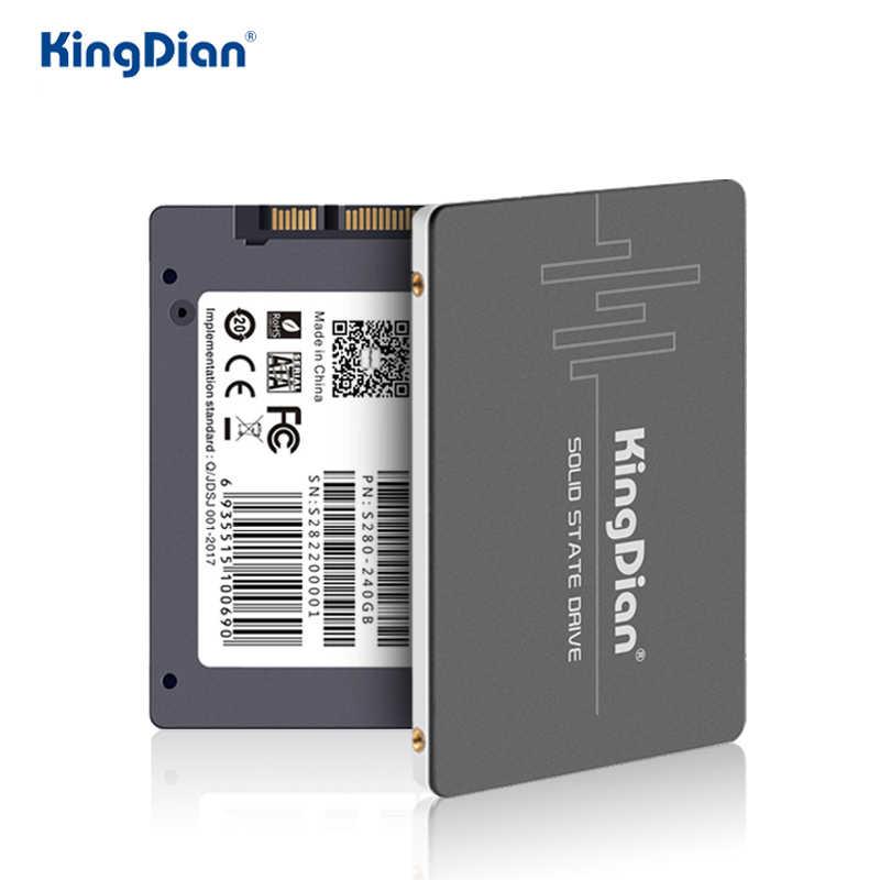KingDian SSD 2.5 SATA3 hdd SSD 120gb SATAIII SSD 128GB כונן קשיח דיסק הפנימי עבור מחברת מחשב נייד שולחן עבודה