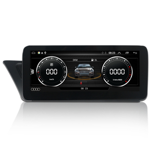 Image 4 - COIKA Unidad principal de coche, accesorio con Android 10, para Audi A4 A5 2009 2016, GPS NAVI Carplay, wifi, Google BT AUX, pantalla táctil IPS 2 + 32G de RAM