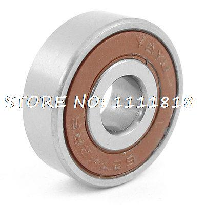 627-2RS 22mm OD 7mm ID Shielded Deep Groove Radial Ball Bearing