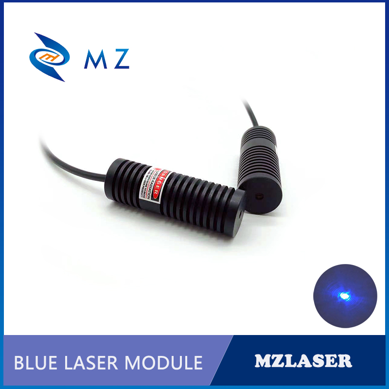 High Power Mini Size 450nm 30mw 50mw 80mw Blue Dot Laser Module For Room Escape/ Maze Props/ Bar Dance Lamp