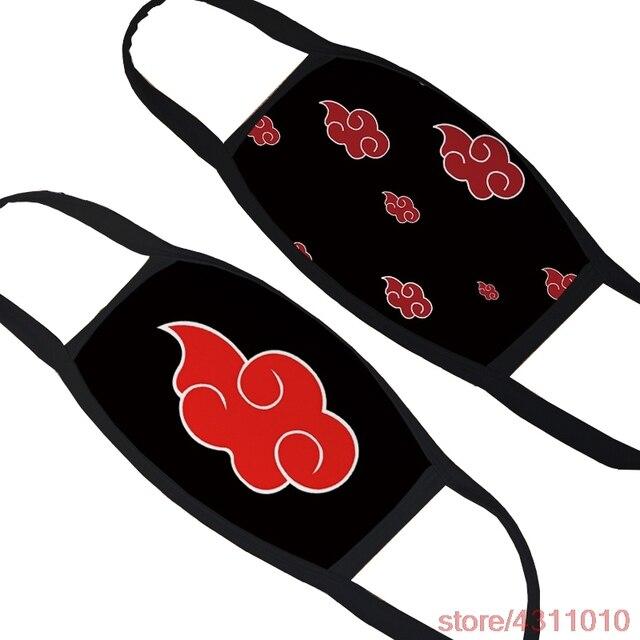 Anime NARUTO Cosplay Konoha uzumaki Uchiha Itachi Mask kakasi Akatsuki Red Cloud hinata Children Adult Face mask Dust Proof