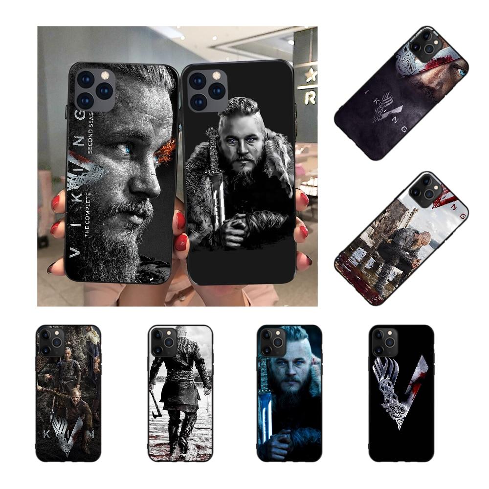 NBDRUICAI Ragnar Lothbrok Vikings Coque Shell Phone Case for iPhone 11 pro XS MAX 8 7 6 6S Plus X 5S SE XR case