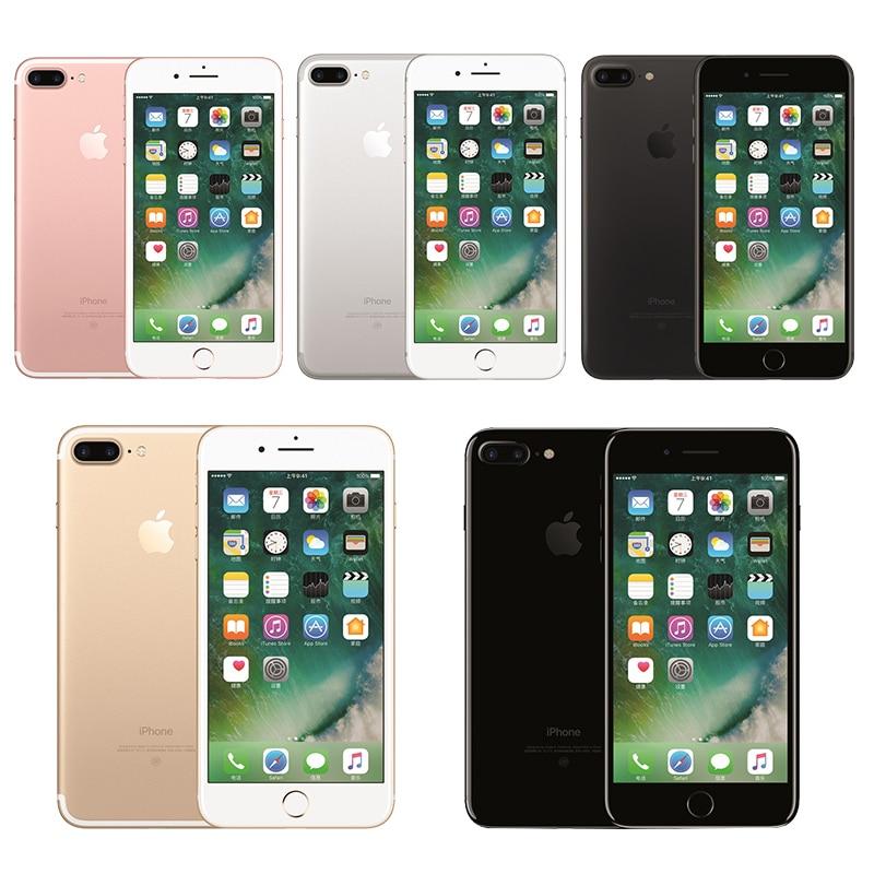 Unlocked IPhone 7 Plus 3GB RAM 32/128GB/256GB Quad Core Fingerprint 12MP IOS 12.0MP Camera NFC Mobile Celular Smartphone Phone|Cellphones| |  - title=