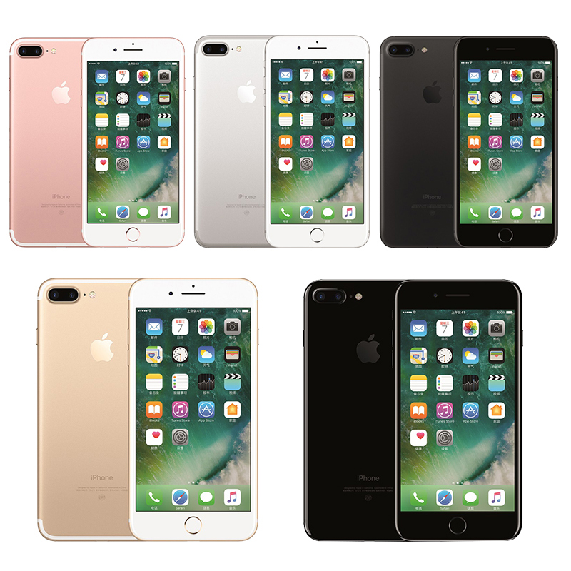 Unlocked IPhone 7 Plus 3GB RAM 32/128GB/256GB Quad-Core Fingerprint 12MP IOS 12.0MP Camera NFC Mobile Celular Smartphone Phone image