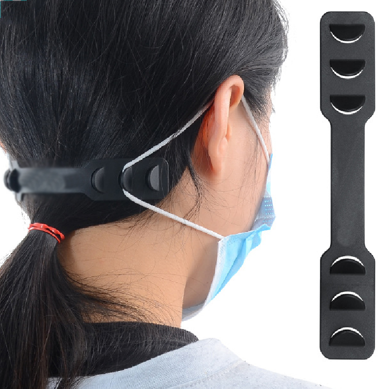 Universal Adjustable Anti-Slip Mask Ear Grips Extension Hook Mask Ear Strap Hook Eco-friendly PP Flexible Material New
