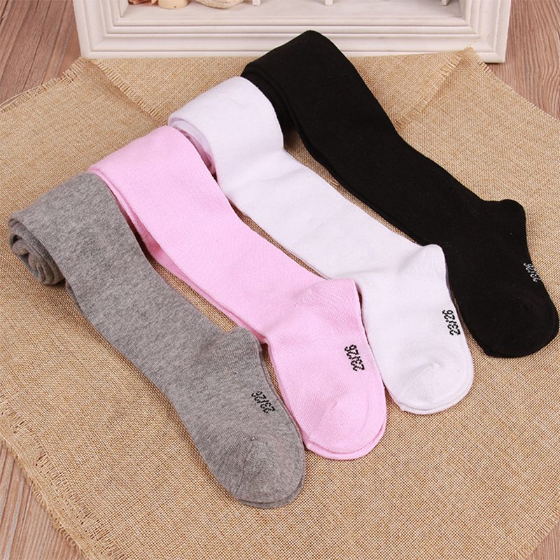 Children Spring Autumn Pantyhose Cotton Soft Kids Tights Baby Infant Knitted Collant Stocking Kids Clothing For 0-6M Baby Tights